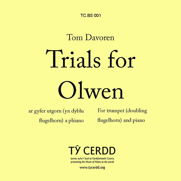 Tom Davoren - Trials for Olwen