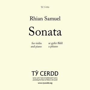 Rhian Samuel - Sonata for Violin