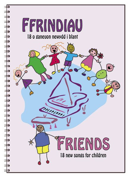 Ffrindiau/Friends (Book and CD)