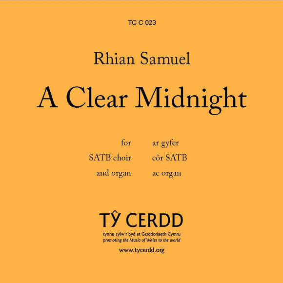 Rhian Samuel - A Clear Midnight