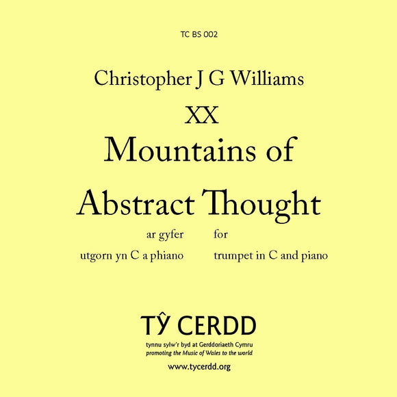 Christopher J G Williams - Mountains of Abstract Thought