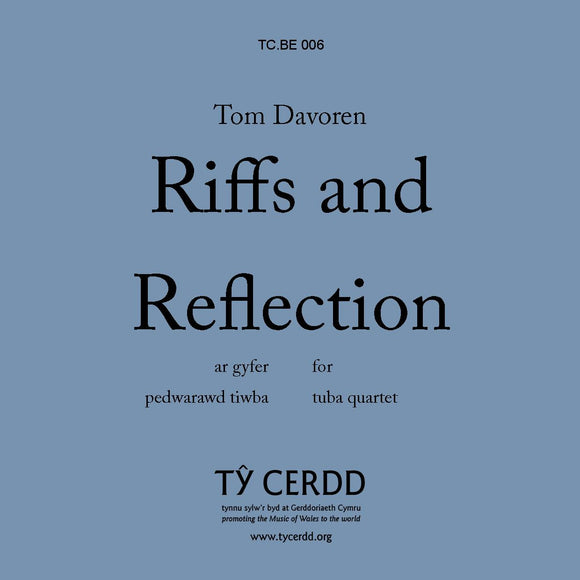 Tom Davoren - Riffs and Reflections (Tuba Quartet)