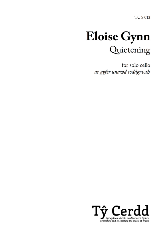 Eloise Gynn - Quietening (solo cello)