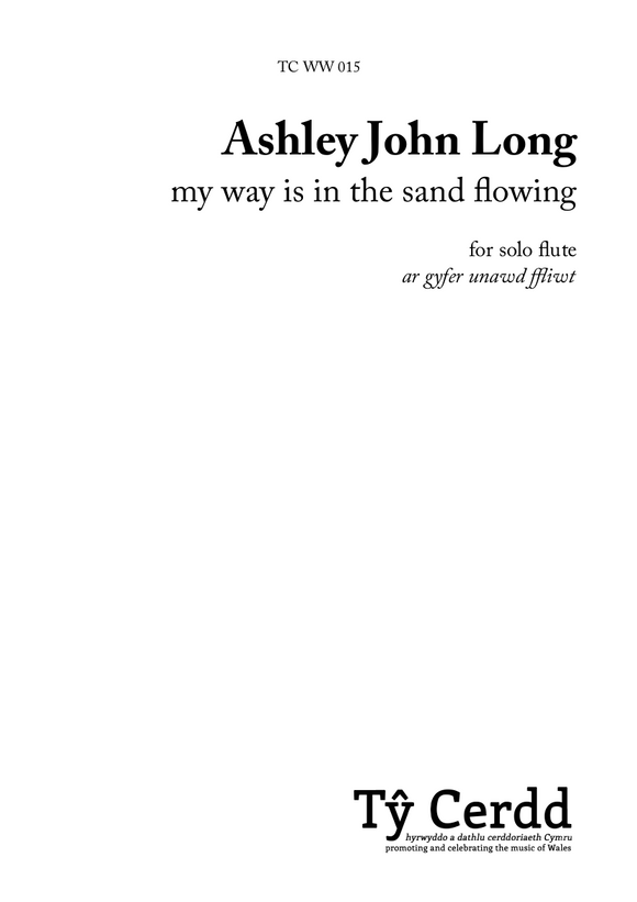 Ashley John Long - my way is in the sand flowing (solo flute)