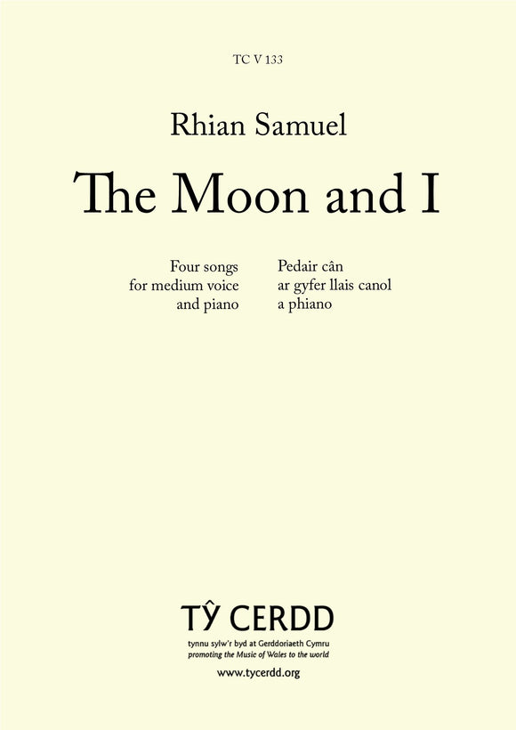Rhian Samuel - The Moon and I (medium voice and piano)