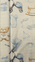 Load image into Gallery viewer, Baby Boys Vintage Designer Changing Mat
