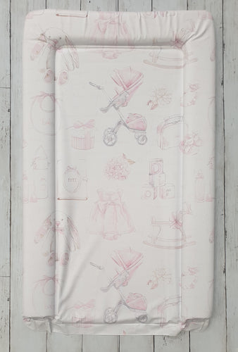 Baby Girls Vintage Designer Changing Mat