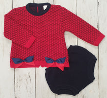 Load image into Gallery viewer, Two Piece Knitted Shortie Set