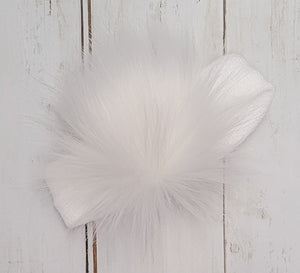 Pom Pom Knitted Earwarmer Headband