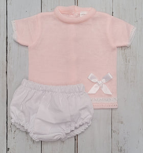 Knitted Shortie Set
