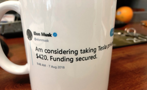 $420 Funding Secured @elonmusk - Funny Coffee Mugs | Novelty Mugs | Best Coffee Mugs