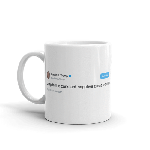 covfefe @realDonaldTrump - Tweets On a Mug | The Best Coffee Mugs on Earth.