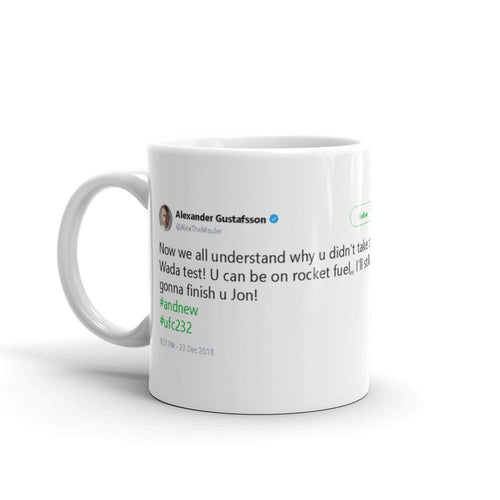 U can be on rocket fuel @AlexTheMauler - Tweets On a Mug | The Best Coffee Mugs on Earth.