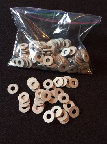 1000 Tattoo Machine Grey Fiber Coil Core Washers Binding Parts Coil 5/16