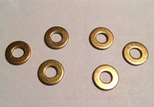 Load image into Gallery viewer, 100 #8 Brass Washers Binder Parts