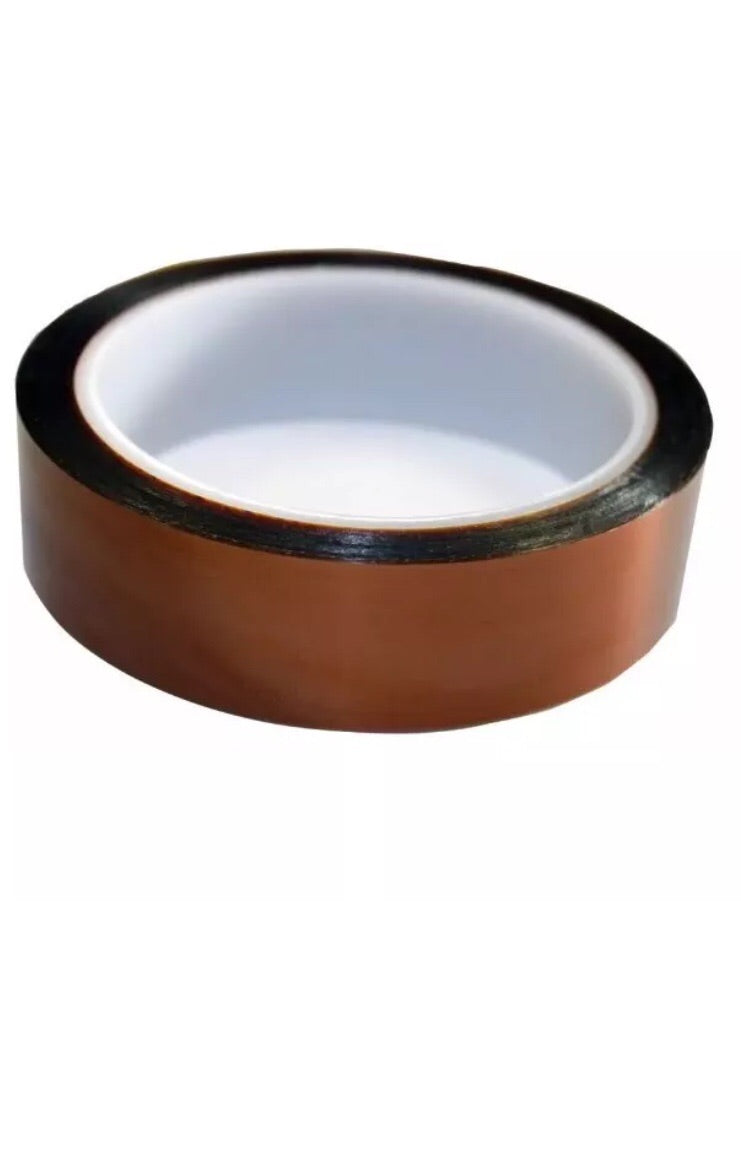 "1"" by 100 ft Kapton Tape Roll Coil Core Insulation Tape"