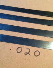 Load image into Gallery viewer, 5' Spring Steel Stock .018 & .020 Thick Gauge Blue Tempered
