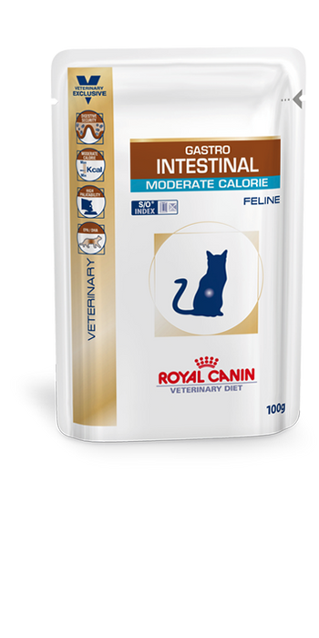 Gastro Intestinal Moderate Calorie Cat Beutel | Marigin AG