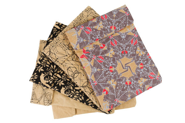 Hand-Printed Tabley Cases Made from Recycled Paper Cement Bags