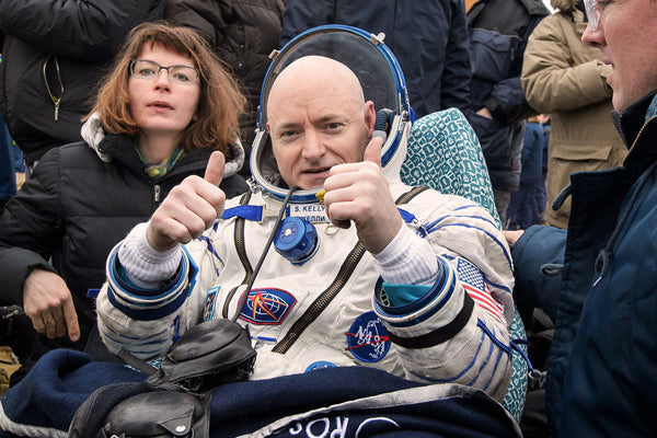 Astronaut Scott Kelly Returned To Earth Taller And Younger