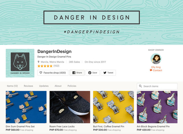 PdP x Danger In Designs: Spotlight on Elly Ang