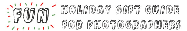 Fun Holiday Gift Guide for Photographer - Header