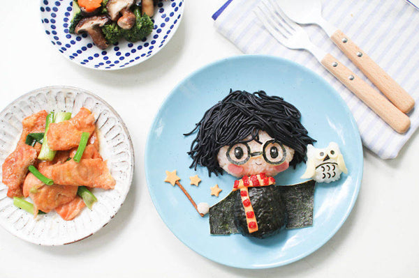 Cute Mom Cooks Cartoon-Inspired Meals for Her Kids