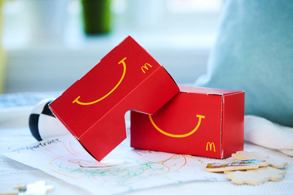 McDonald's Is Turning Happy Meal Boxes Into VR Headsets