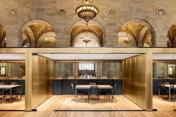 Old Bank turned into Startup Office in Montreal