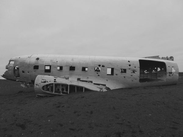 Iceland - DC3 Plane Crash