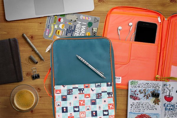 5 Steps to Style Your Travel Journal