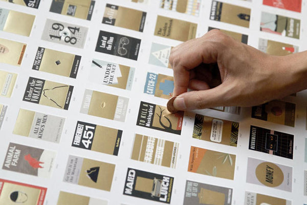 Brag About How Many Books You've Read With This Scratch-Off Chart
