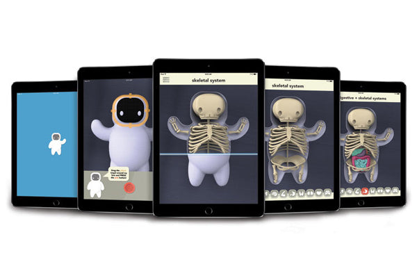 This Cute Toy Uses Augmented Reality To Help Kids Understand Illness
