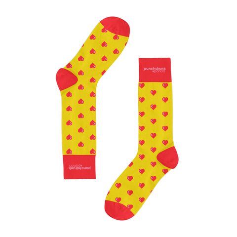 Retro Heart Classic Socks