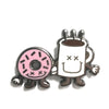 Coffee & Donut Enamel Pin