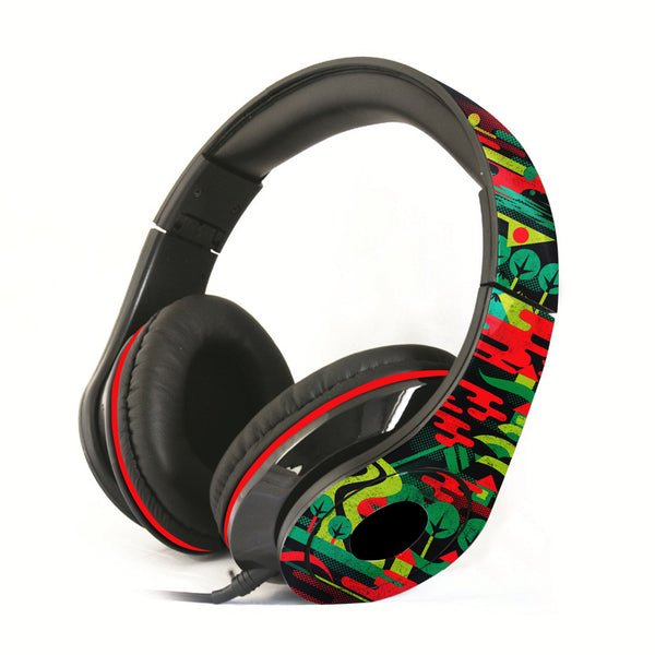 Colorful City Headphones