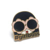 #GirlBoss Enamel Pin