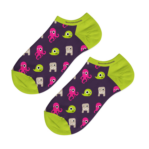 Monster Low Cut Socks