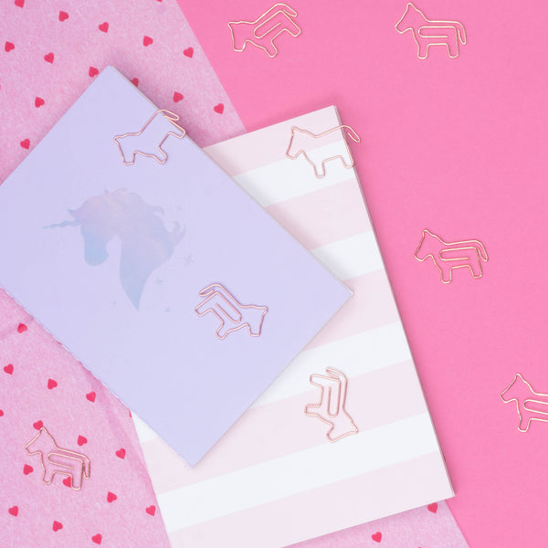 Unicorn Paper Clip (8 attaches)