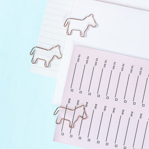 Unicorn Paper Clip (20 attaches)
