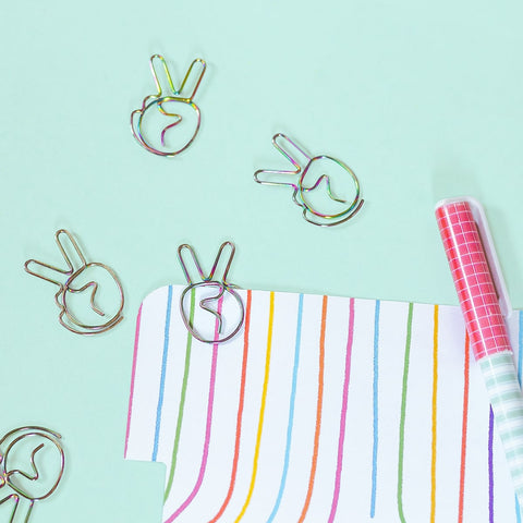 Peace Paper Clip (6 attaches)