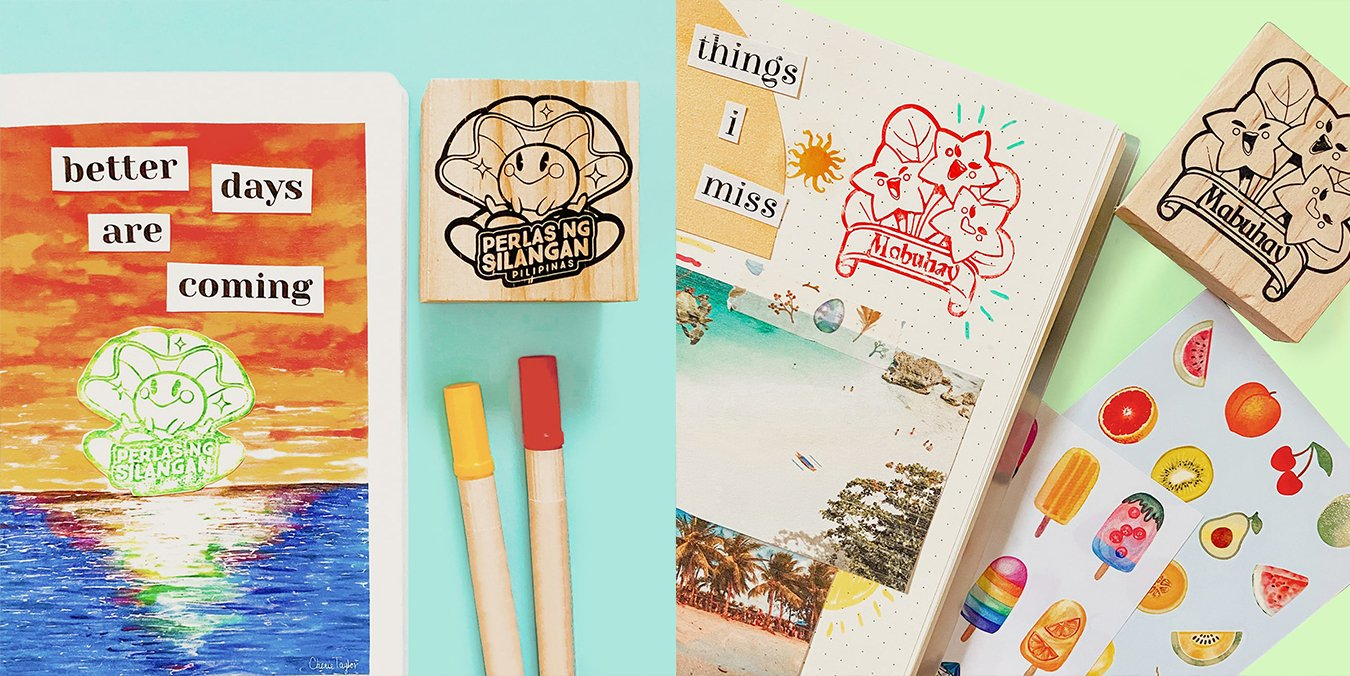 Wooden Stamps: PH Series