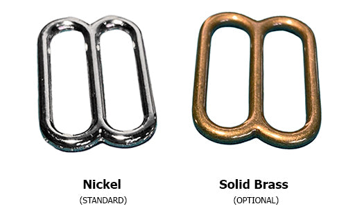Nickel and Solid Brasss Hardware Options