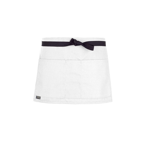 CHEFtog Performance Shorty Waist Apron White