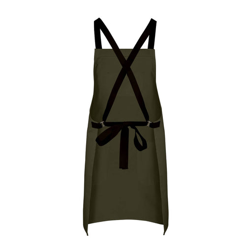 CHEFtog Big Hopsack Canvas Cross-Back Apron
