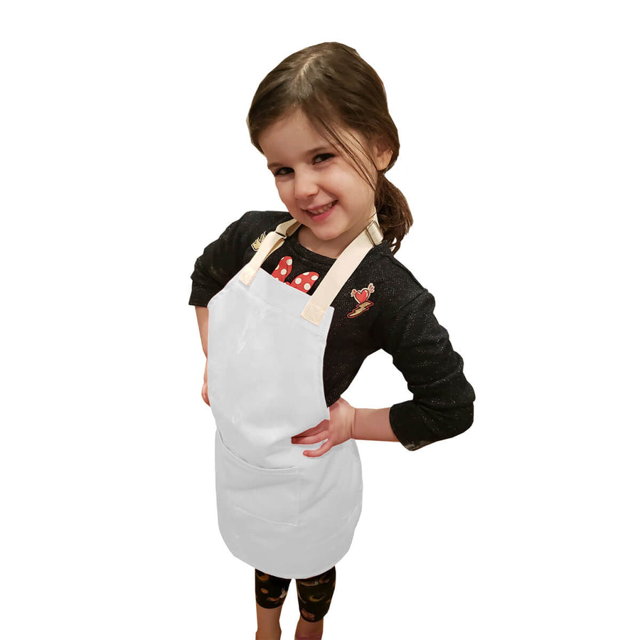 Little Tog Apron-White-CHEFtog