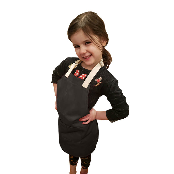 CHEFtog Little Tog Apron Chocolate