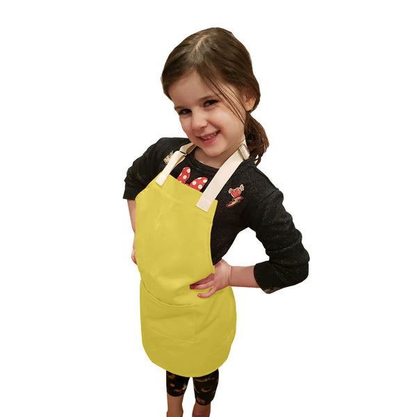 CHEFtog Little Tog Apron Lemon