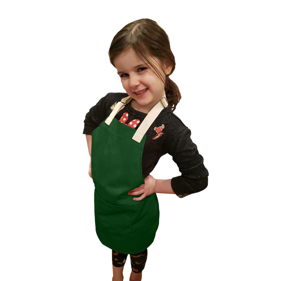 Little Tog Apron-Green Pepper-CHEFtog