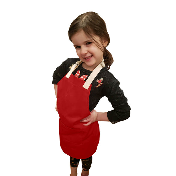 CHEFtog Little Tog Apron Candy Apple